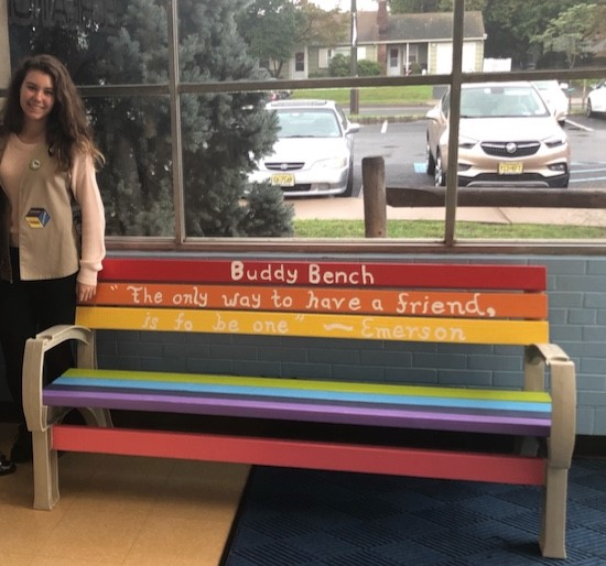 silver award jordan buddy bench 2